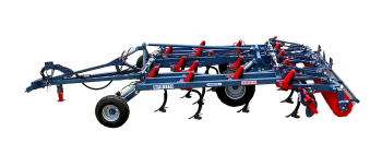 "Exchangeable working section machine ""Tirex"" (stubble cultivator)"